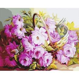 Лукошко нежных цветов