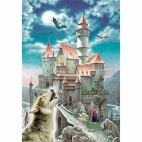 Пазл Замок и волк