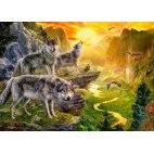 Пазл Долина волков