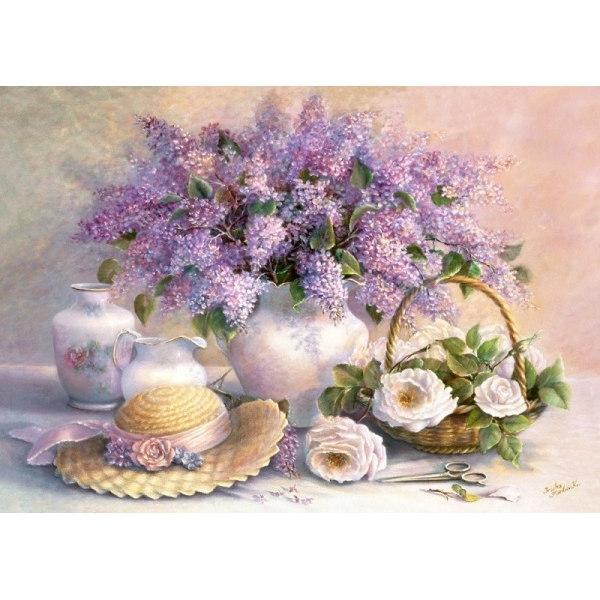 Пазл Цветы, живопись