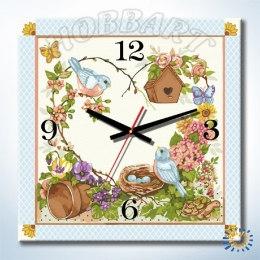 Дачное время (часы-раскраска)