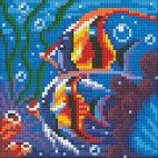 Алмазная вышивка Обитатели рифа