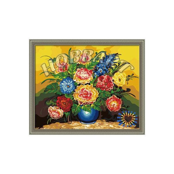 Букет персиковых роз раскраска hobbart — img 1
