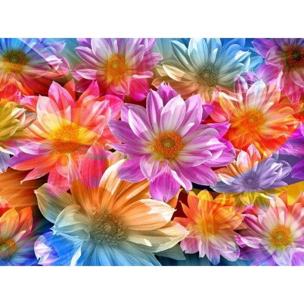 Вышивка вальс цветов