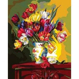 Тюльпаны напоказ