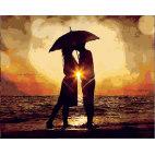 Поцелуй под зонтом