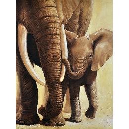 Алмазная вышивка Слонёнок