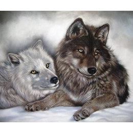 Алмазная вышивка Инь и Янь