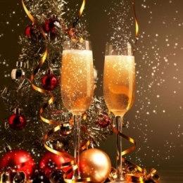 Алмазная вышивка Брызги шампанского