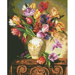 Алмазная вышивка Букет тюльпанов