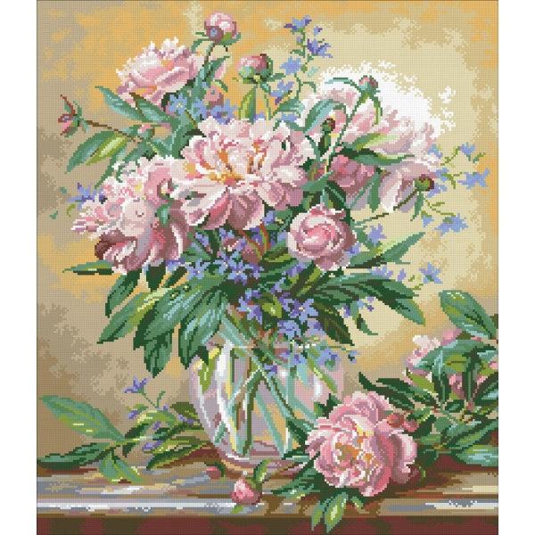 Алмазная вышивка набор цветы