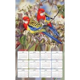 """Алмазная вышивка-календарь """"Райские птички"""" на 2017 год"""