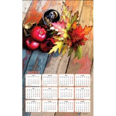 "Алмазная вышивка-календарь ""Осенний натюрморт"" на 2017 год"