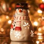 Алмазная вышивка Снеговик