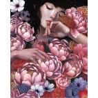 Алмазная вышивка Цветочный сон