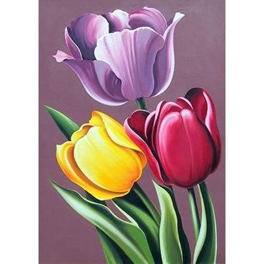Алмазная вышивка Аромат тюльпанов