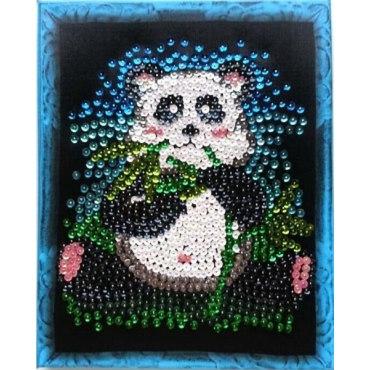Мозаика из пайеток Панда