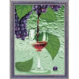 Мозаика из пайеток Виноградный сок