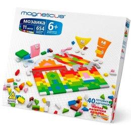 Магнитная мозаика, 654 элемента, 11 цветов
