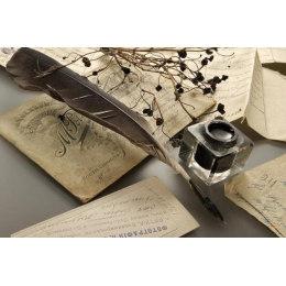 Алмазная вышивка Винтажное письмо