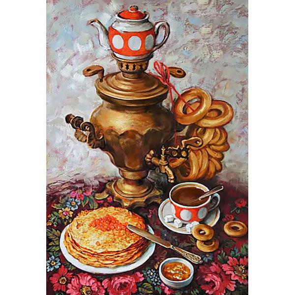 Алмазная вышивка Царский чай