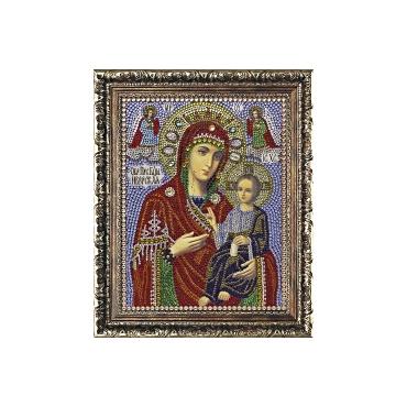 """Алмазная вышивка Икона """"Божией Матери """"Иверская"""""""