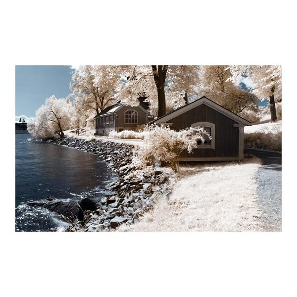 Алмазная вышивка Снежный берег
