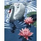 Алмазная вышивка «Принцесса-лебедь»