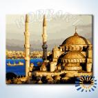 «Голубая мечеть» раскраска по номерам (Hobbart Lite)