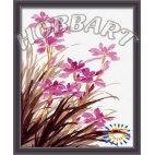 Сиреневые орхидеи