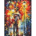 Поцелуй под дождем