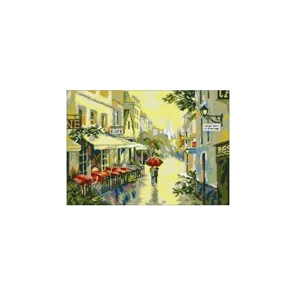 Алмазная вышивка Французская улочка