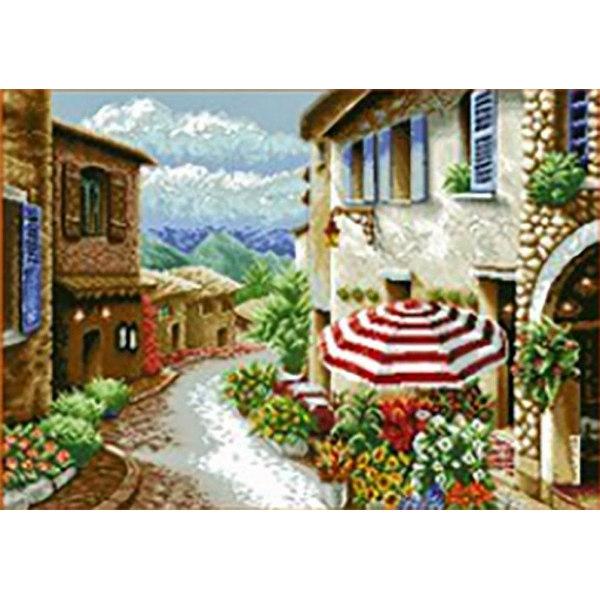 Алмазная вышивка Итальянская улочка