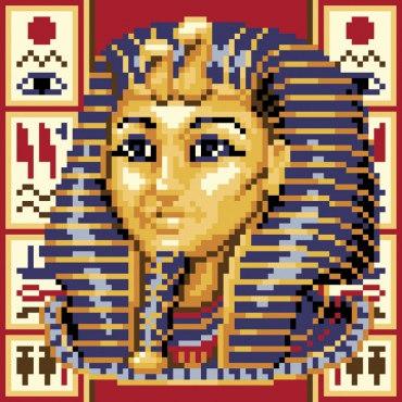 Алмазная вышивка Тутанхамон