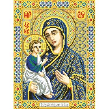 Алмазная вышивка Икона Божией матери Иерусалимская