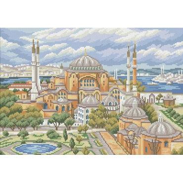Алмазная вышивка Мечеть Святая София