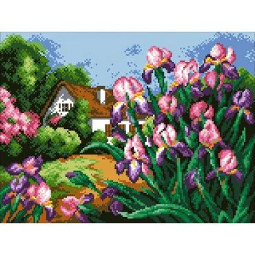 Алмазная вышивка Весенние цветы