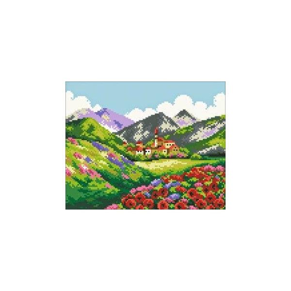 Алмазная вышивка Красота гор