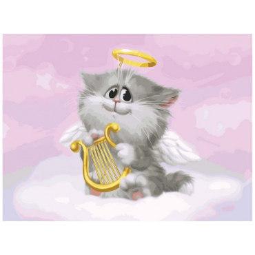 Котенок ангелочек