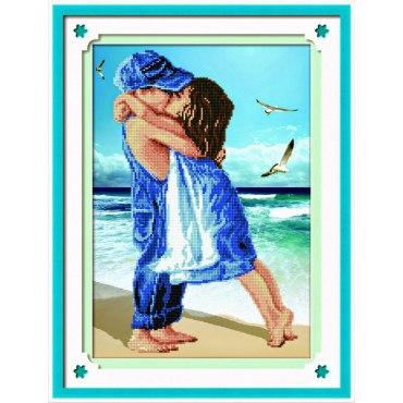 Алмазная вышивка Первая любовь