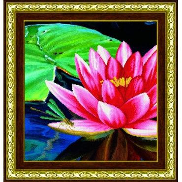 Алмазная вышивка Цветок лотоса