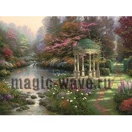Умиротворённый сад