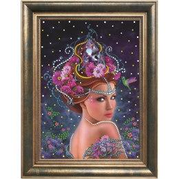 Алмазная вышивка Королева цветов