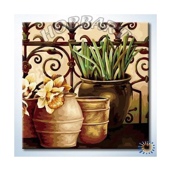 На веранде садовода (без подрамника)
