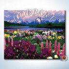 Долина цветов (без подрамника)
