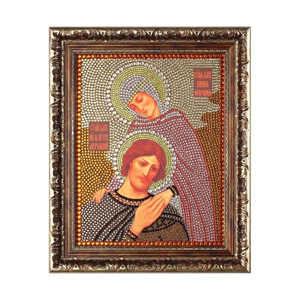 Алмазная вышивка Петр и Феврония