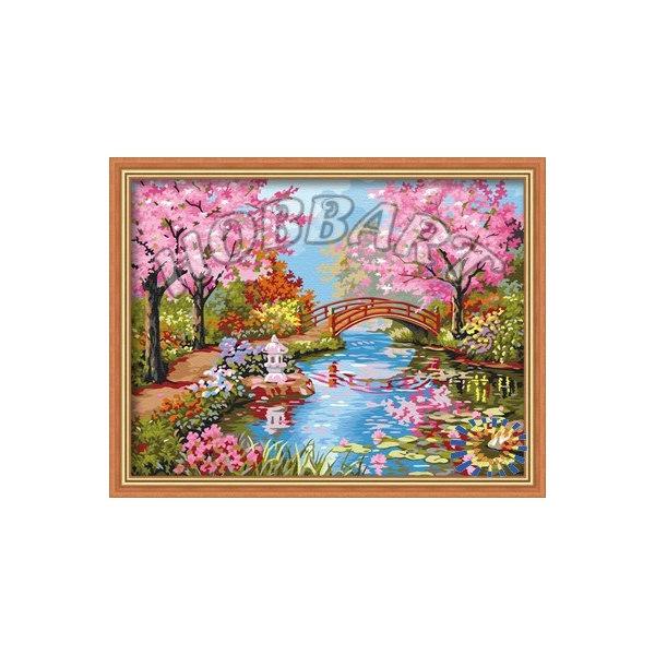 Японский садик в цвету
