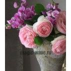 Алмазная вышивка Цветы в вазе