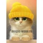 Алмазная вышивка Милый котик