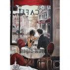 Алмазная вышивка Романтический обед